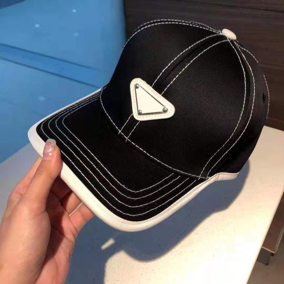 Mens Ball Caps Outwears Street Chapéus Esporte Estilo com Letras Bronze Impresso Ajustar Baseball Unisex Cap Hip Hop Hat 4 Opções