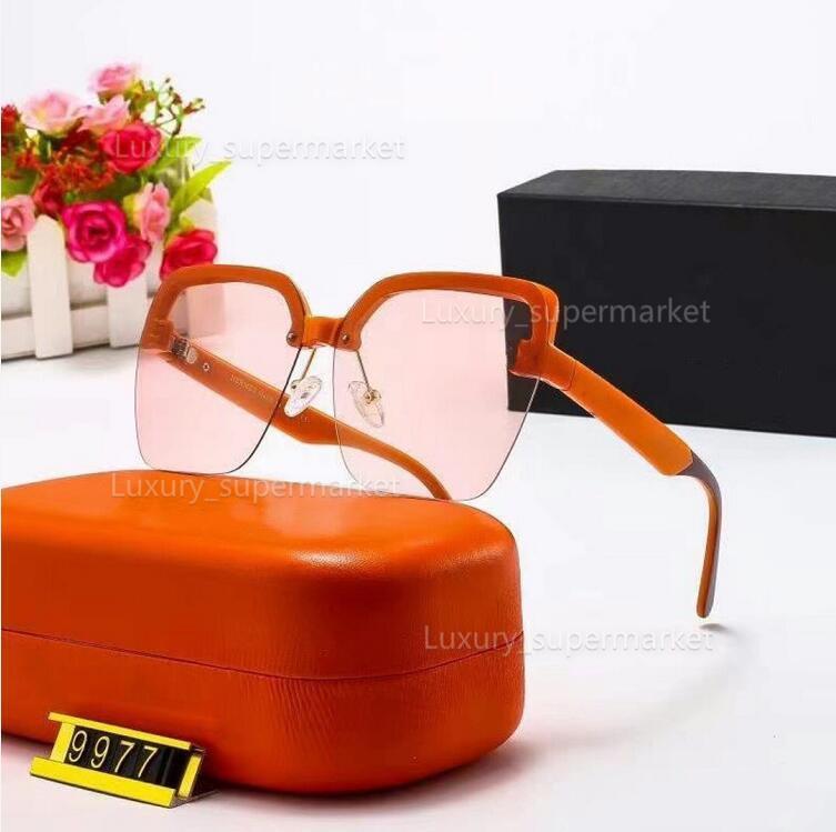 2021 moda luxo de alta qualidade mulheres óculos de sol mudando óculos de sol polarizados de alta definição. Com a caixa original AAA UV400