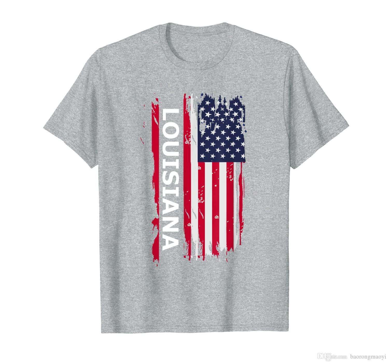Serin Louisiana ABD T Gömlek Louisiana Hediye Hediyelik Eşya Tee