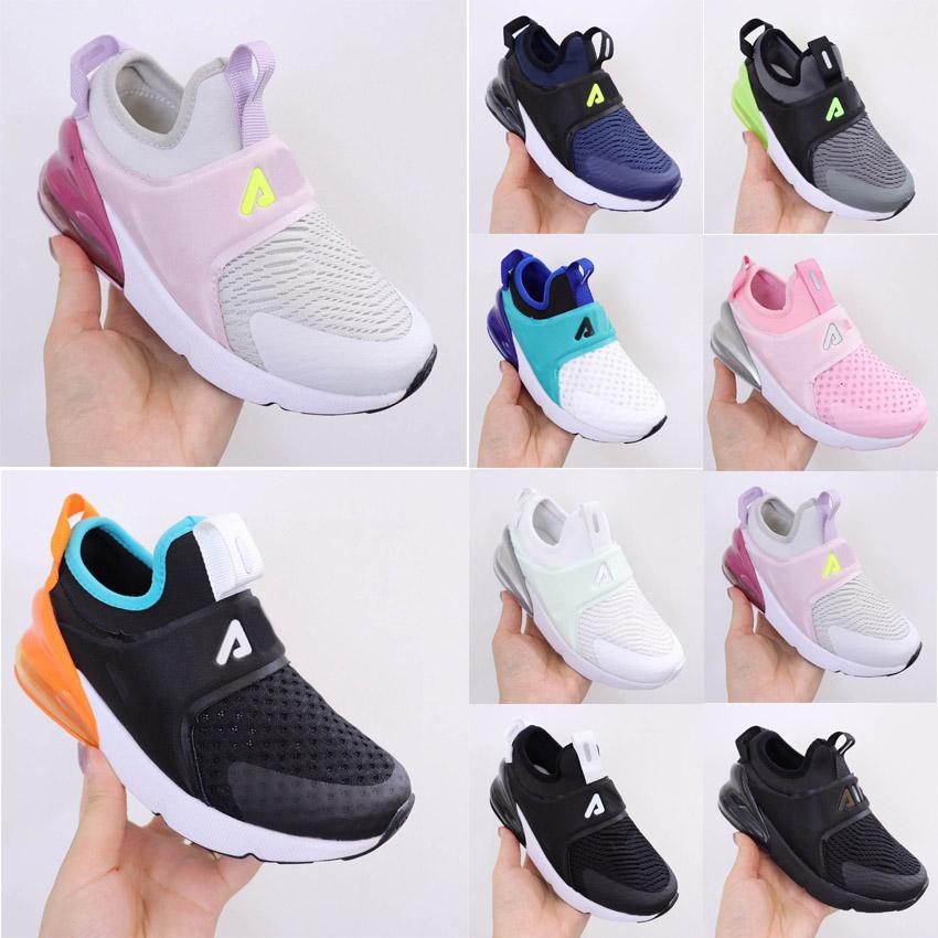 Дети слайды воздушные подушки 27C сетки кроссовки детские Детские летние дышащие спортивные ботинки мальчики девушки молодежь открытый бег кроссовки