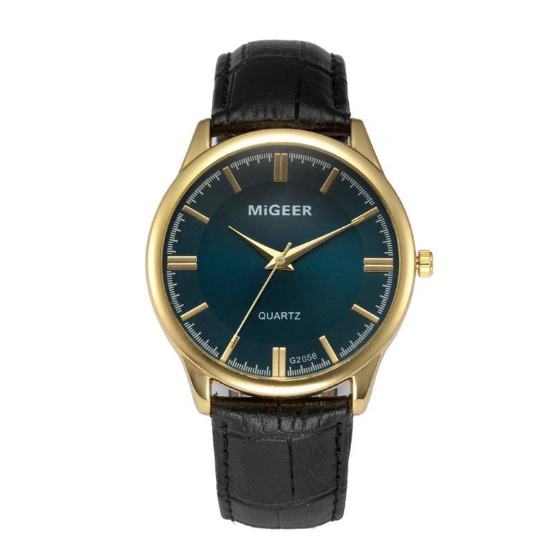 Wristwatches Fashion Unisex Watches Men Women Leather Business Quartz Stylish Casual Sport Vintage RelogioMasculino
