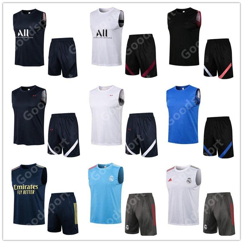 2021 MBAPEE Vest da calcio Kit Tracksuiti Francese Korea Messi Ronaldo Saka Pepe Henry Son Heung Min Suarez Koke Lukaku Asensio Ramos Vinicius Futbol Football