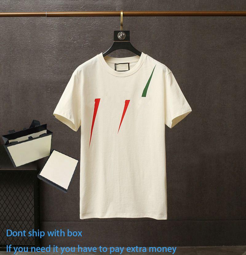 Летняя мода унисекс с коротким рукавом верхняя напечатанная вскользь футболка дышащая круглая шея обрезанные вершины с разными цветовыми узорами пары платье