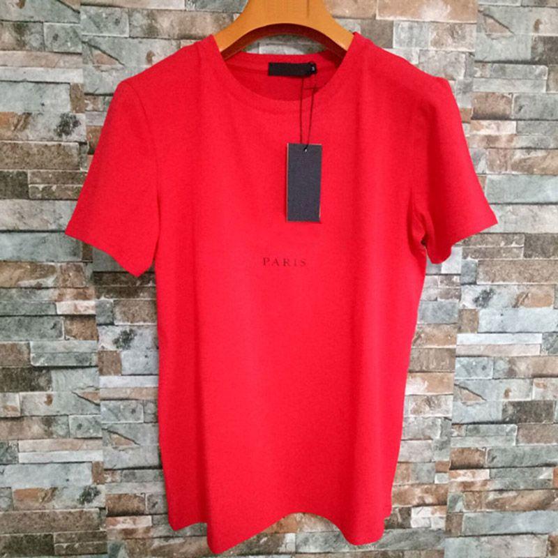 Mens Letter Print T Shirts Black Fashion Designer Summer High Quality Top Short Sleeve Size S-XXL