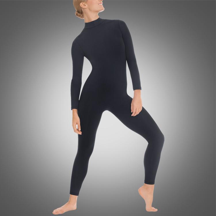 Adult high neck unitard A2624 wholesale ballet dance untiards discount gymnastic wear