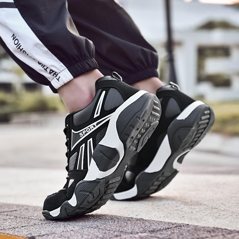 Bahar Kadınlar için Uygun Ayakkabı Erkek Chaussures Yumuşak Işık Yukarı Nefes Alt Hafif Zapatos Atletik Yürüyüş Stokta Sekiz 36-44