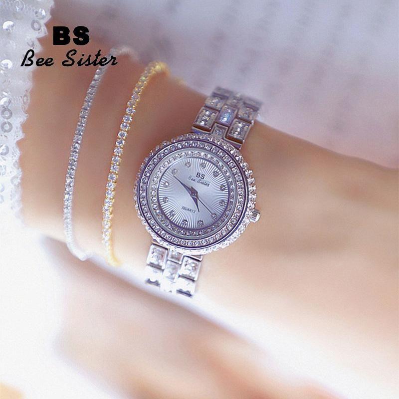 Wristwatches WOMEN WATCHES DIAMOND DRESS QUARTZ FASHION LADIES WATERPROOF WRISTWATCH ZEGARKIDAMSKIE