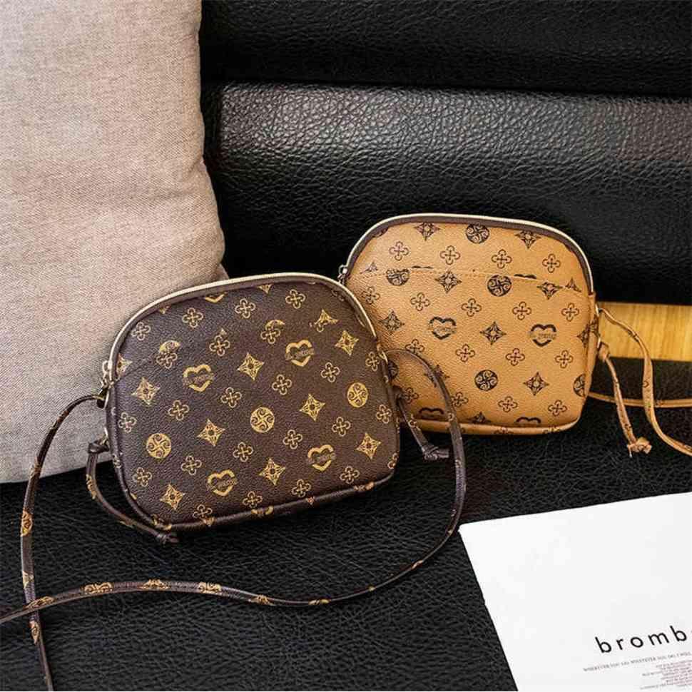 2021 Mode Shell Handtasche Kinder Mädchen Luxurys Gedruckt Handytasche Mini Geldbörsen Eine Schulter Slanting Cross Bag für Kinder G63RXUT