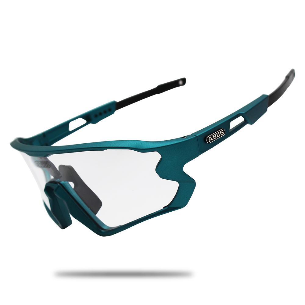 نظارات شمسية اسود نظارات الدراجات من الدراجات UV400 دراجة دراجة ركوب TR90 الرياضة في الهواء الطلق النظارات الاستقطاب 1/5/6 عدسة