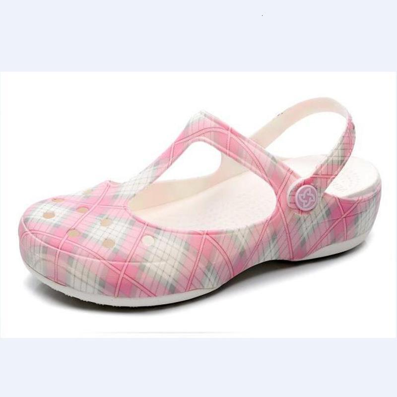 Chinelos de verão sapatos de presentes mulheres clogs plataforma jardim sandálias geléia deslizamento sobre para slides de praia de menina ou gb6e