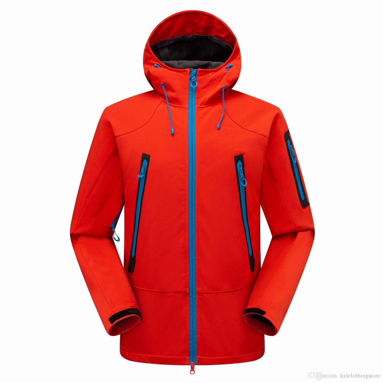 Jacke Mantel Männer Winter mit Kapuze Softshell für winddichte Hohe Qualität Softshell Jacke für Männer Thermalmantel für Männer