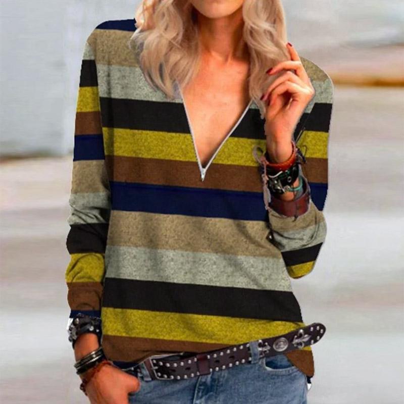 2021 Autumn Casual Women Blouse Shirts Retro V Neck Button Long Sleeve Tops Elegant Office Ladies Plus Size Shirt Blusa Feminina