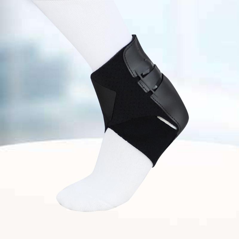 Sports de cheville Soutien Confortable Fitness Equitation Brace pour Tennis Basketball Storin Black gauche Taille du pied gauche