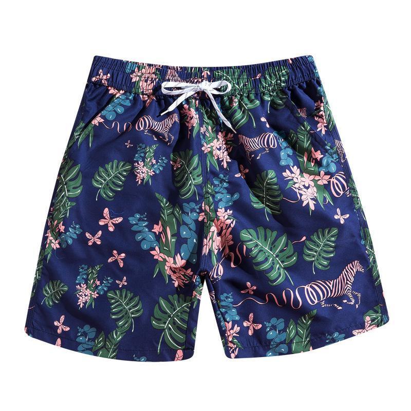 Blaue Zebra Herren Board Shorts Strand Schwimmstämme Badeanzüge Männliche Bikini Männer Badebekleidung Surfen Homme de Bain 2021 964