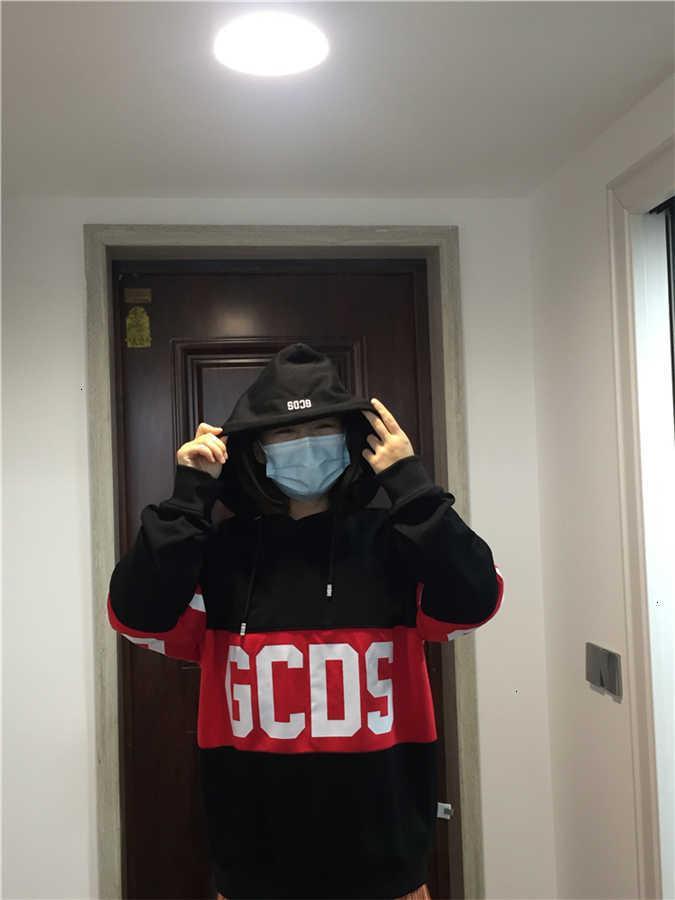 GCD розетка логотип итальянская группа высококачественная одежда черные белые мужчины и женские толстовки модные пуловеры в наличии JKSH 0JB6