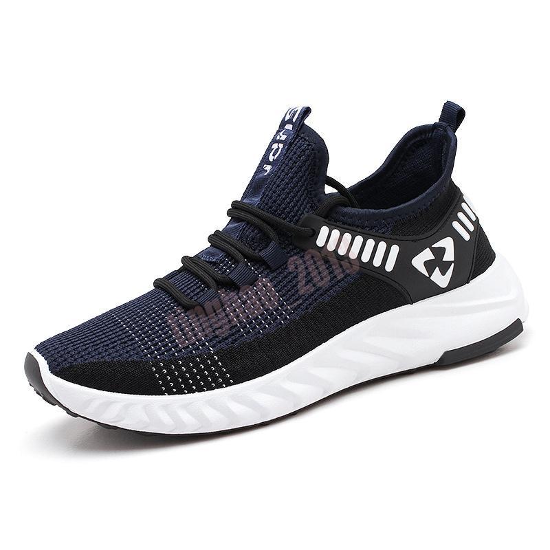 2021 Hommes de haute qualité Hommes Casual Chaussures Sneaker Grey Sports Baskets Baskets Taille 7-13 des Chaussures 29
