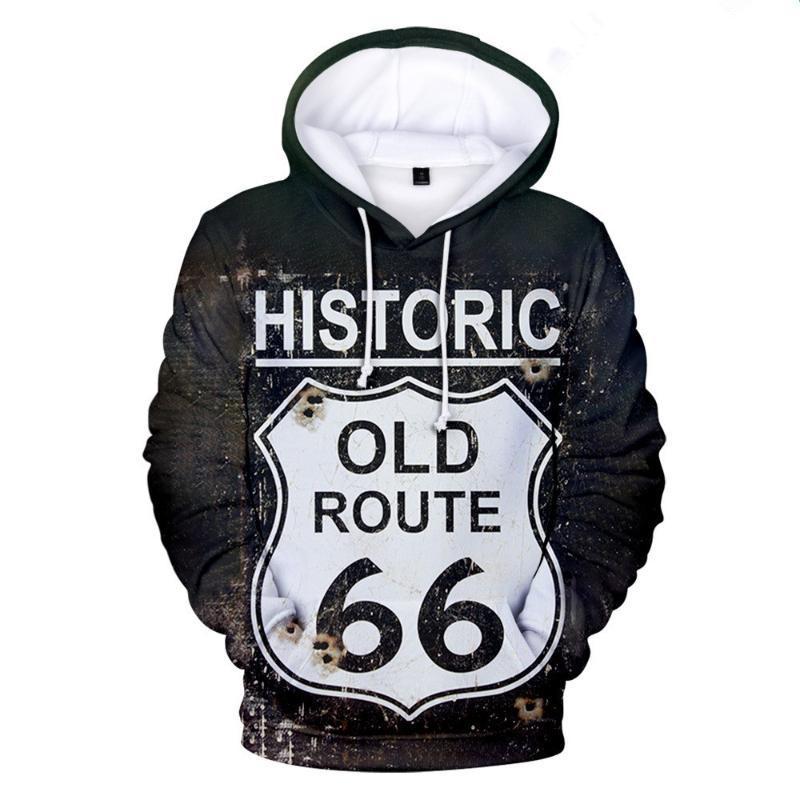 Men's Hoodies & Sweatshirts 3D Masculino Júnior High School Design De Moda Impressão 66 Outono Boy Lang Moletom Com Capuz Hip Hop Top
