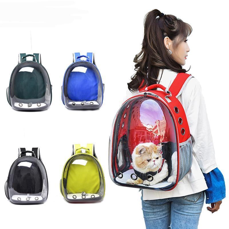الألوان تنفس حقيبة الناقل الكلب الصغيرة المحمولة القط حقيبة الظهر السفر في الهواء الطلق إسقاط مقعد السيارة يغطي