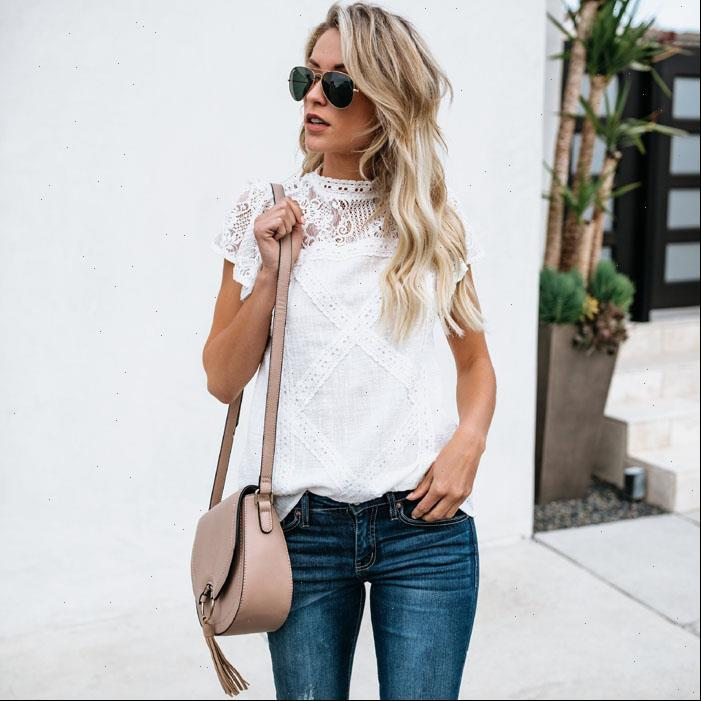 Sexy White Lace Fashion Women Shirt Short Sleeve Vestidos Summer Hollow Out Tops Blusa
