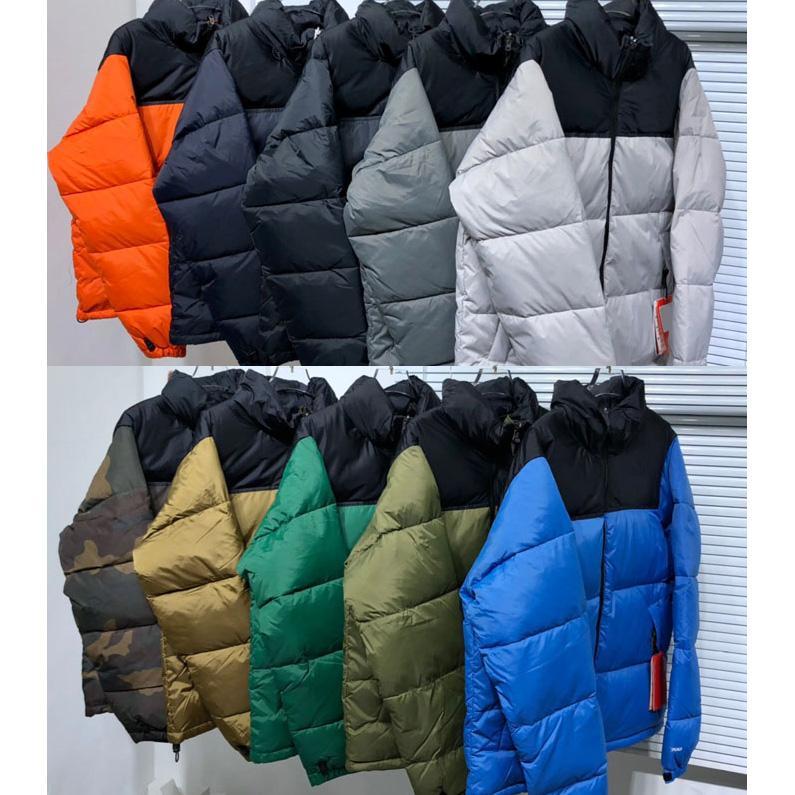21SS inverno mens top qaultiy down piumino moda ricamo 90% bianco anatra giù giacche di riempimento coppia spessa calda uomo e donne cappotti neri parka t1996