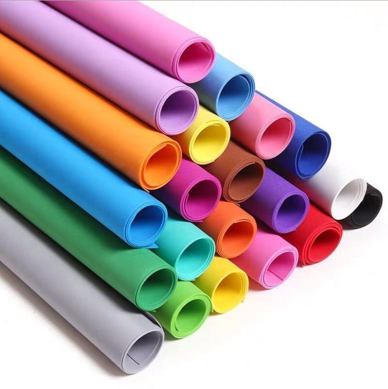 Ürünleri Malzemeleri Ofis Okul Iş Sanayi50 * 50 cm 10 Yaprak 1mm Kalın PE Köpük Kağıt Sünger Scrapbooking El Sanatları DIY El Yapımı Yıl