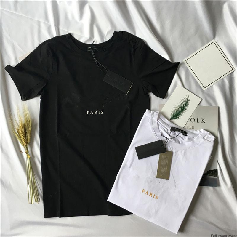 Herren Brief Druck T Shirts High Quanlity T-Shirt Ashion Designer Sommer Top Kurzarm Größe S-XXL