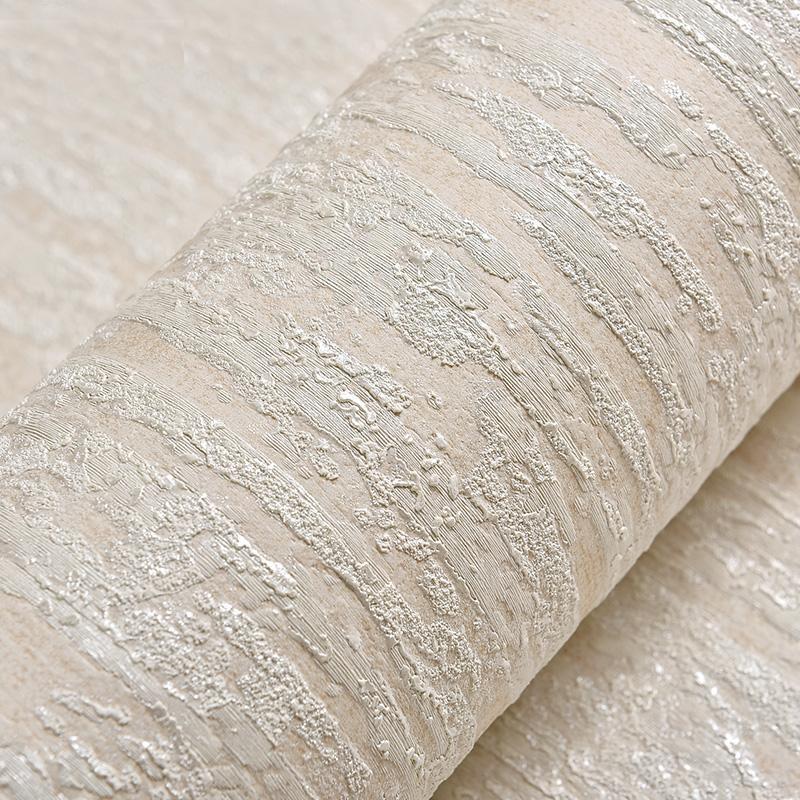Fonds d'écran beige | Texture grise 3D Texture en Embossé Papier de mur de mur moderne Papier peint Simple Simple Couleur pour chambre à coucher Décoration de salon