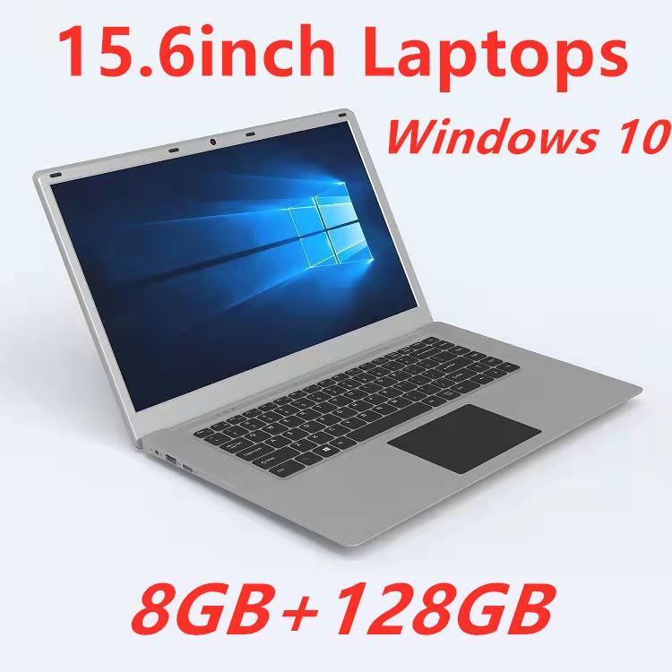 2021 15.6 بوصة led 16: 9 HD شاشة صغيرة كمبيوتر محمول الكمبيوتر المحمول ويندوز 10 كاميرا J3455 رباعية النواة 8 جرام رام DDR3 128GB NAND فلاش AMMC Android Book Tablet Laptops
