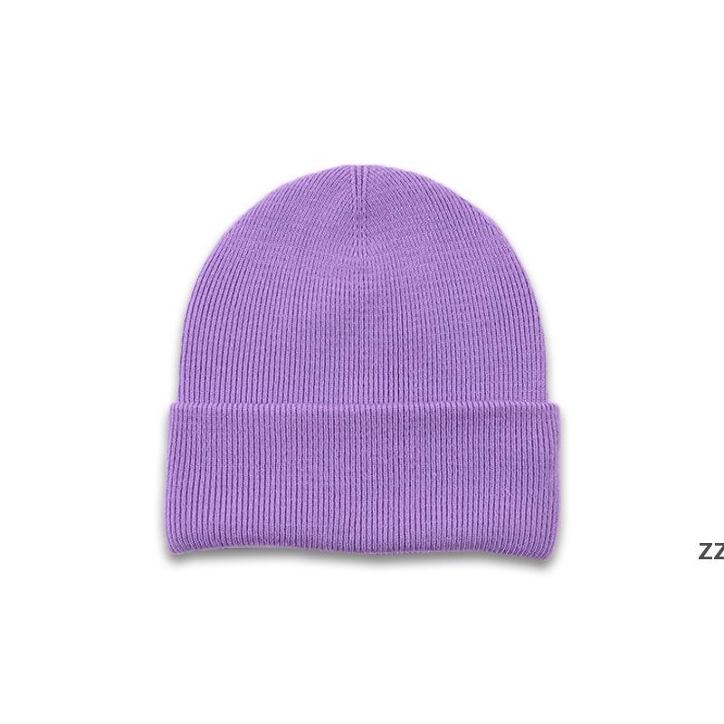 Kinder Beanie Hüte Süßigkeiten Farbe Gestrickte Mütze Mode Kinder Einfach Hut Weiche Jungen und Mädchen Hip Hop Caps Outdoor Warm Ski Hwd7350