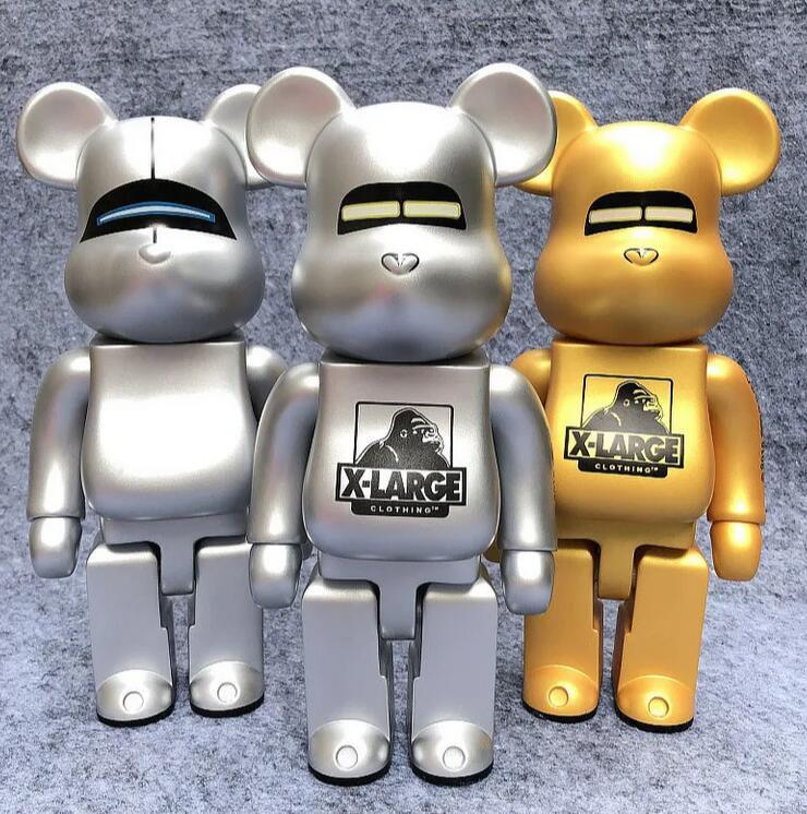 28 CM 0.8 KG Originalfake Companion Bearbrick Film Oyunları Orijinal Kutu Kaws için Ünlü Stil Action Figure Model Süslemeleri Oyuncaklar Hediye