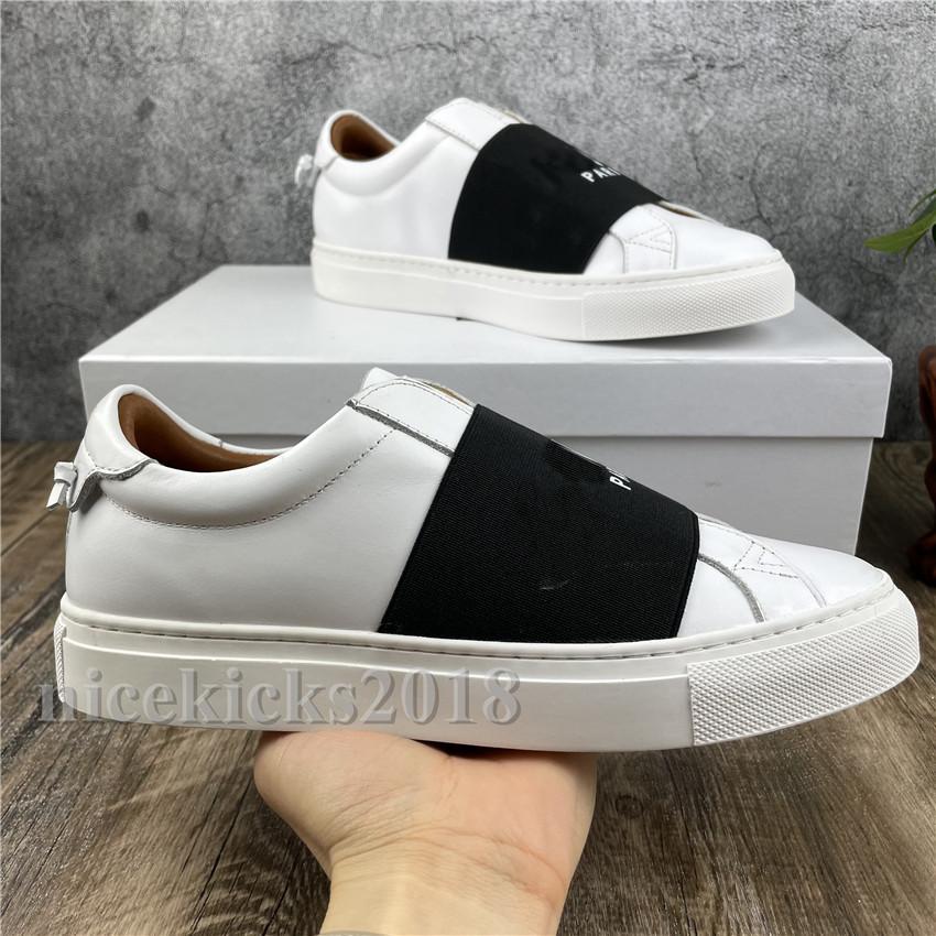 Männer Frauen Sneaker Casual Schuhe Italien Classic White Sneakers Lace Up Schuh Walking Sport Trainer Band Chaussures Mode Schöner Slip auf Scarpe