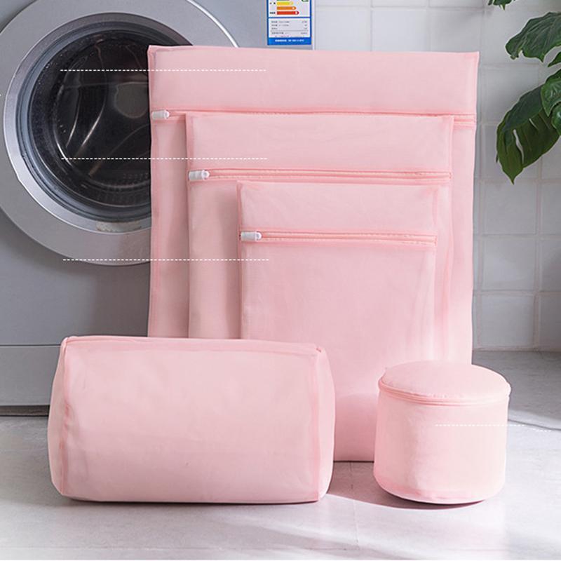 Taschenmaschine zum Waschen Wäsche Mesh Große schmutzige Socken Kleidung Unterwäsche Reiseprodukte Zubehör Container Net Big BH Set Taschen