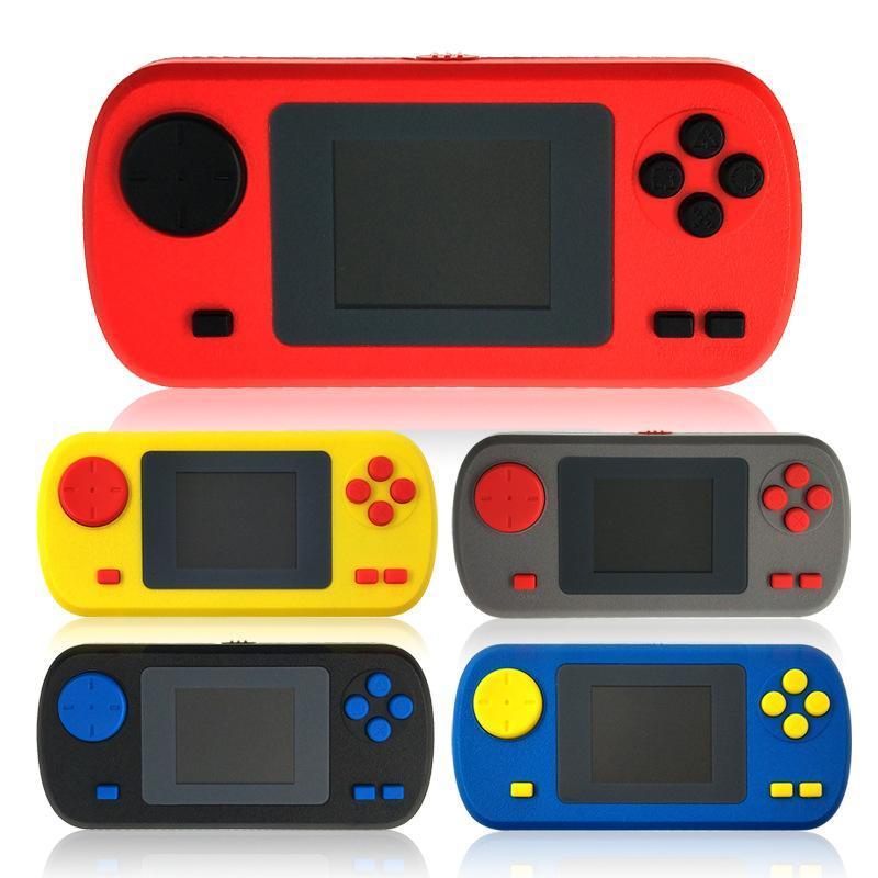 Taşınabilir Oyun Oyuncuları Çocuk El Oyuncu 2 inç Ekran 502 Renkli Ekran Konsolları 268 farklı oyun ile TV'ye