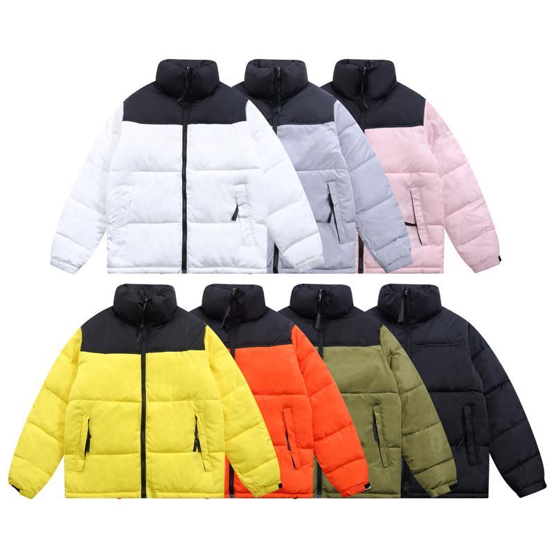 21SS Inverno Mens Good Qaintiy Giacca in cotone Fashion Downs Cotton-imbottito Giacche Coppia Costume Uomini caldi Cappotti Lettera Stampa Parka Black