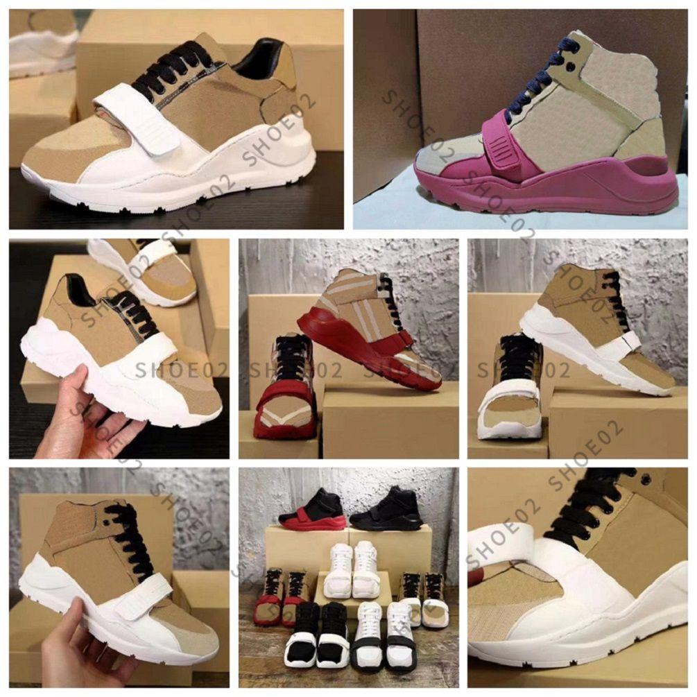 عالية الجودة حذاء رياضة أحذية حقيقية الجلود شل حذاء رياضة المدربين المشارب الأحذية الأزياء المدرب للرجل امرأة رغبة مربع 01