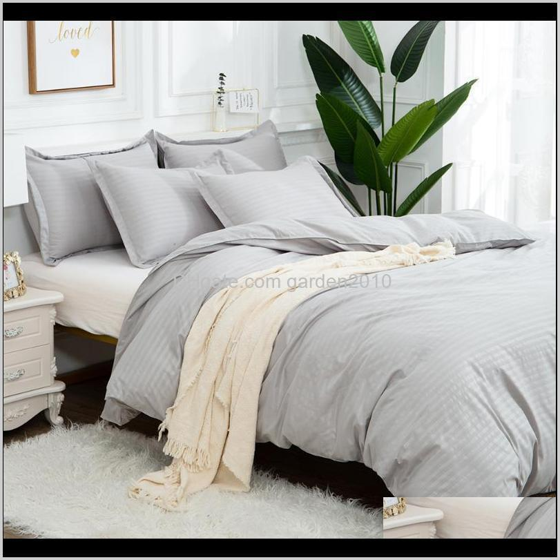 Set Luxury Soft Linens Duvet And Pillowcases Comforter Bedding Sets Queen King Size Cotton Bed Cover Set1 Qz7O6 Toaz1
