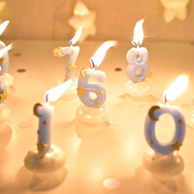 Kerzen Geburtstag Döts Romantische Farbe Weiß Kleine Teelichtkerze Runde Geständnis Velas Perfumadas Dekoration 50LZ