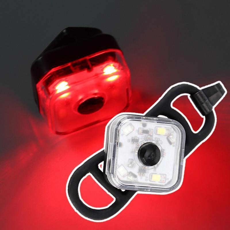 Bisiklet Işıkları Bisiklet Güvenlik Işık LED Kuyruk Arka Lambası Bycicle Taillight Açık Bisiklet Sürme Aksesuarları