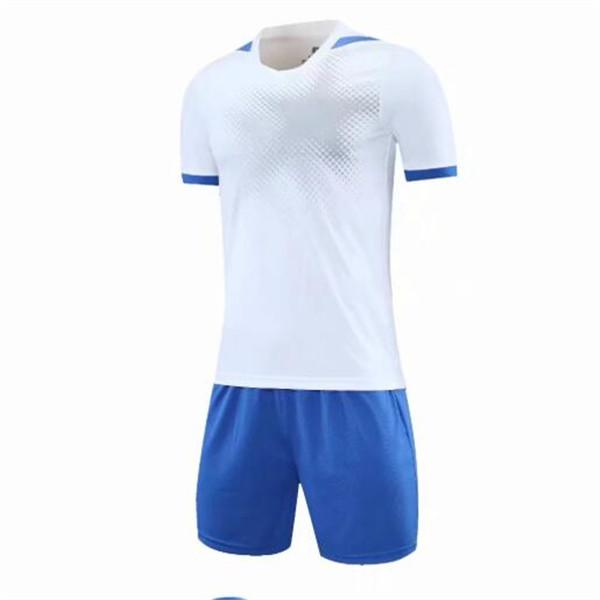 كرة القدم الفانيلة جولة الرقبة الرجال قصيرة الأكمام فارغة تي شيرت فئة خدمة الثقافة غير المبطنة الملابس العلوي