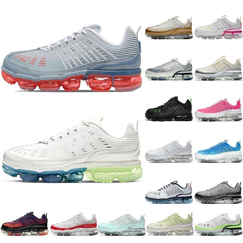 Nike Air Vapormax 360 Nike Vapormax 2021 Top Quality Women Mens scarpe da corsa AirVaporeAirmax Metallic Gold Black Iridescent Nik Mens Trainer Scarpe da ginnastica