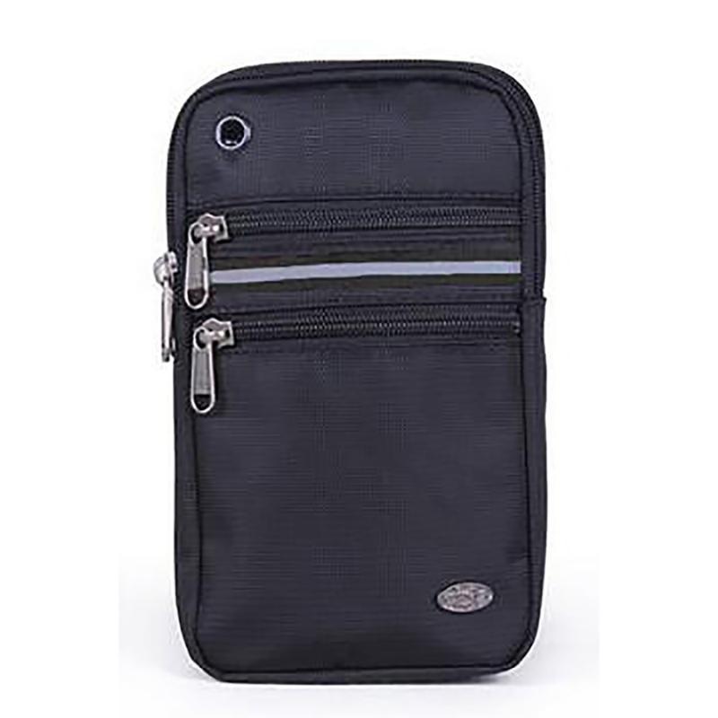 Yüksek Kalite Oxford Erkekler Fanny Bel Paketi Kol Bandı Kemer Kılıfı 6.3 / 7 inç Cep Telefonu Küçük Çapraz Vücut Messenger Çanta Çanta