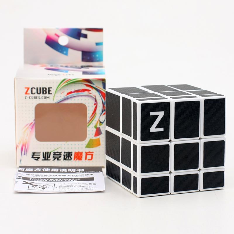 Yeni 3x3 Ayna Küpü Sihirli Karbon Fiber Sticker Eğitim Cubo Magico Oyuncaklar Hediye Olarak Çocuklar Çocuklar Labirent Eğitim