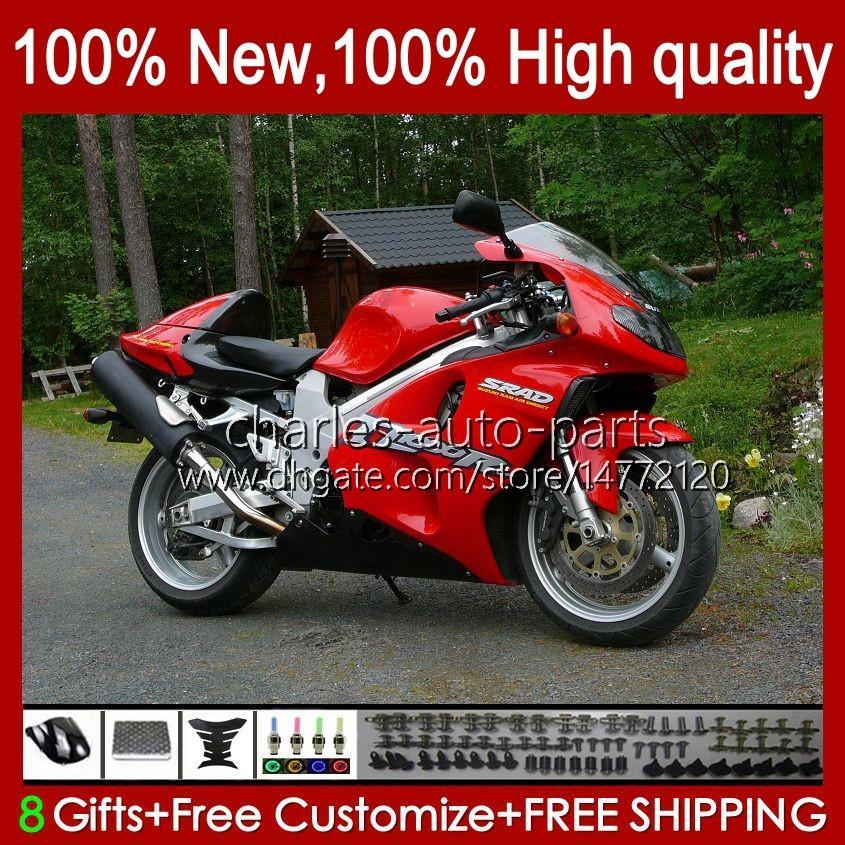 Carrozzeria per Suzuki Srad TL1000R TL 1000R TL1000 R 98 99 00 Glossy Red New 2001 2002 2003 Body 19HC.85 TL-1000R 98-03 TL-1000 TL 1000 R 1998 1999 2000 01 02 03 Kit carenatura OEM