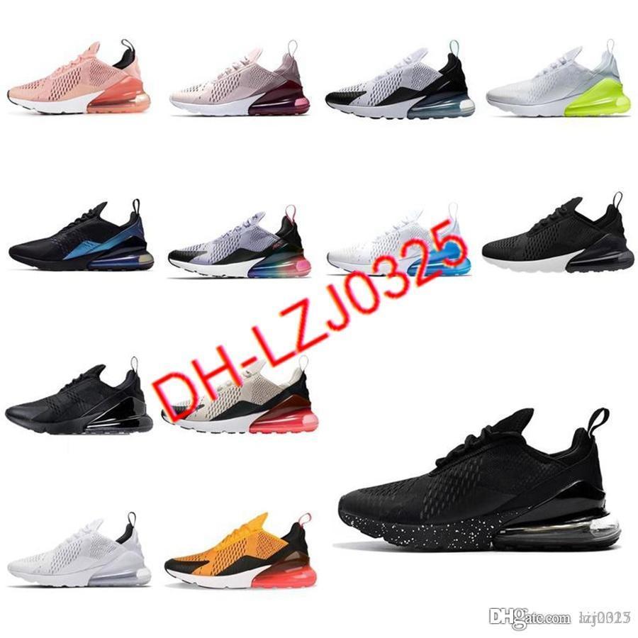 Hombres Mujeres Botas 270s 27c Zapatos Deep Royal Blue Optical Black Fashion Fashion Trainer Transpirable Deportes Sports Sneakers Tamaño 36-45 K225 DX142