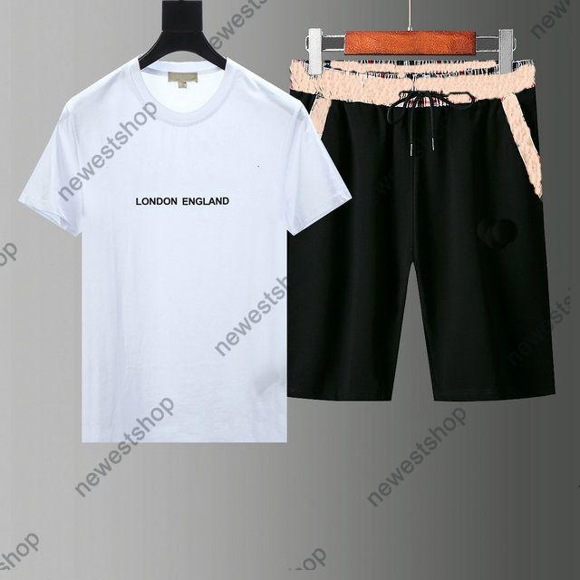 2021 Summer Designer Mens Tracksuits Conjuntos de la letra de la moda Imprimir Gird Shorts SHORT TRANS TRAJE T-SHIRT SHIRTH SPORTSWEAR SHIRT M-3XL