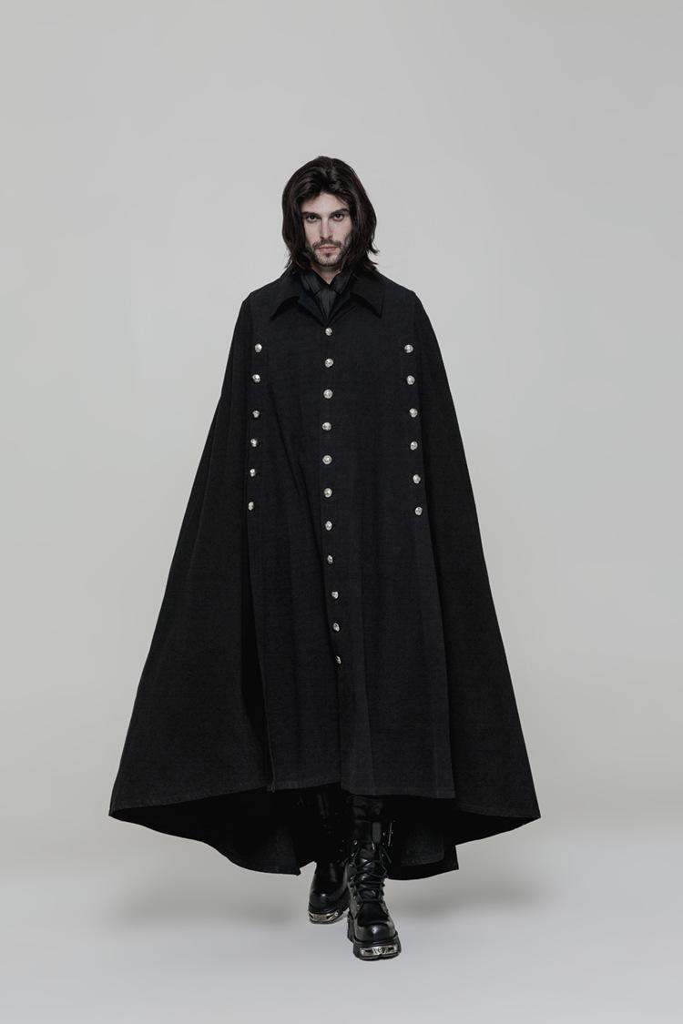 M-4XL Herbst und Winter European American Koreanische Männer Wollkape Mantel Flut Männliche Fledermaus Wilde Trend Schal Wolle Mischungen