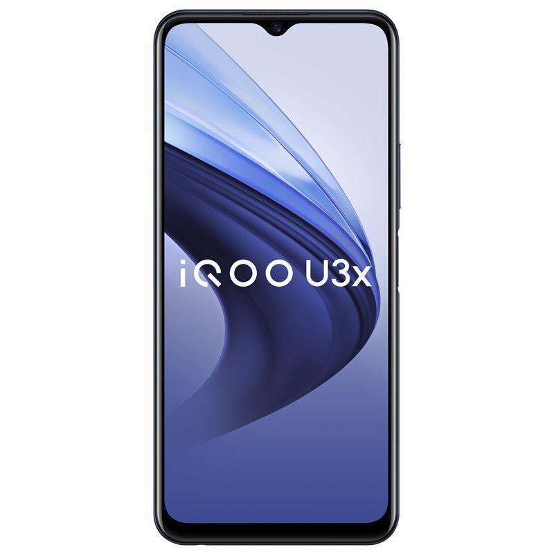 "Original vivo IQOO U3X 5G Mobiltelefon 6 GB RAM 64GB ROM Snapdragon 480 Octa Core Android 6.58 ""Vollbild 13MP 5000mAh Fingerabdruck ID FACE WACK SMART MELSON"