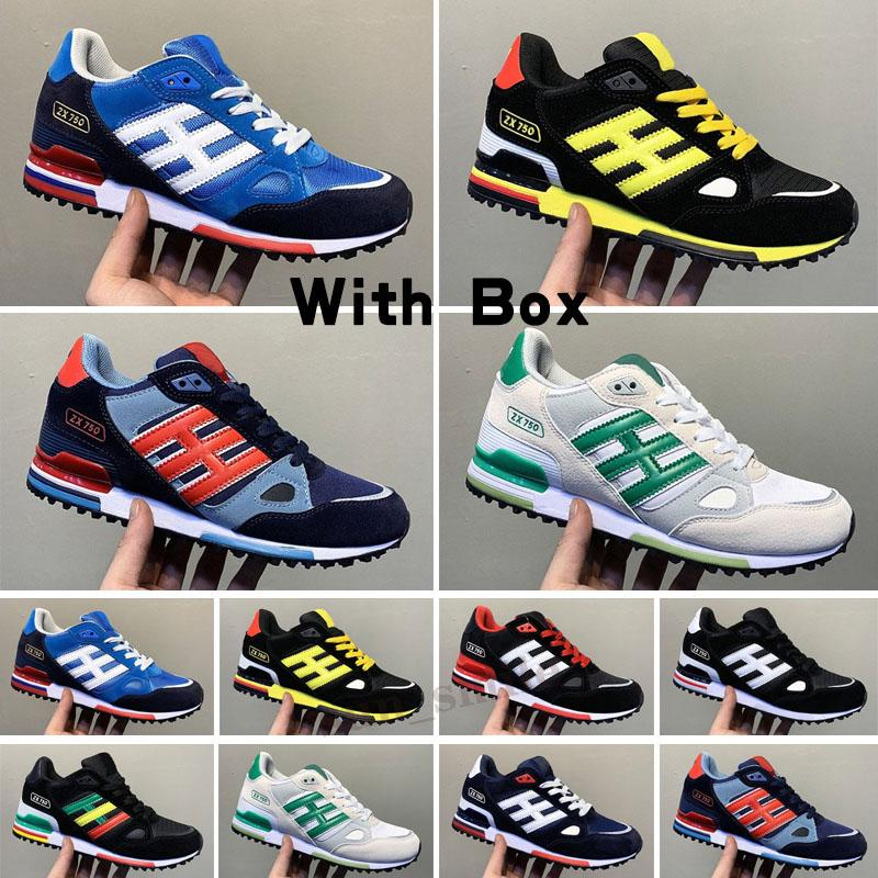 originals ZX 750 EDITEX EDITEX ZX750 scarpe da corsa Sneakers ZX 750 per uomo e donne Atletico Dimensioni traspiranti 36-44