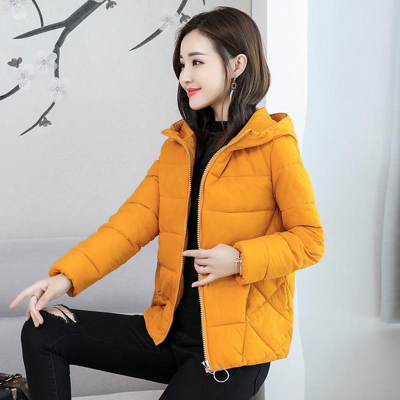 Frauen Winter Dicke Parka Mode Warme Casual Womens Mäntel und Jacken Mit Kapuze Taschen Parka Feminina Winter Kleidung Plus Größe 210412
