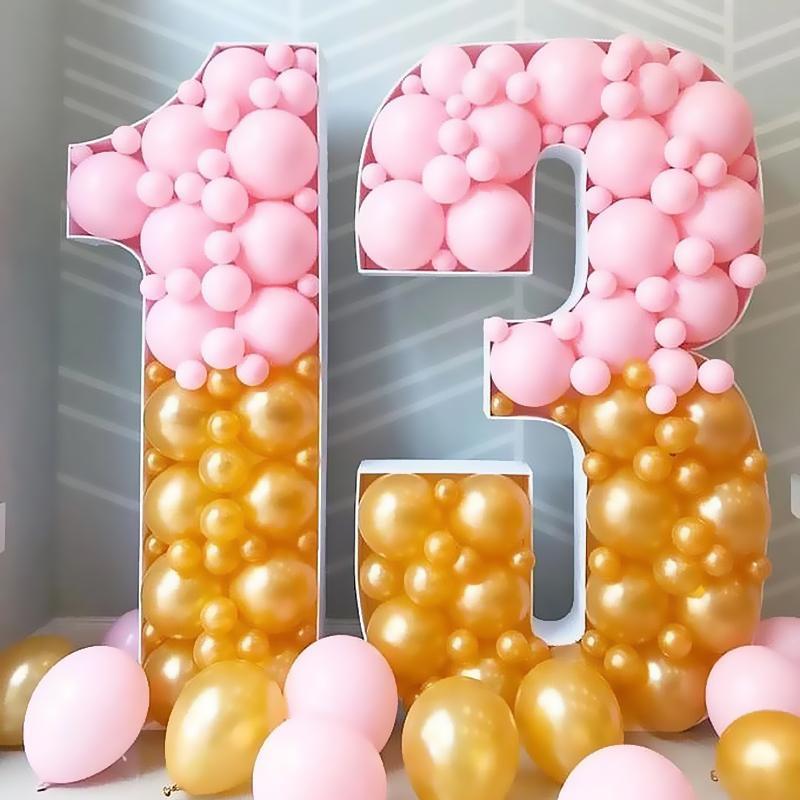 100pcs 매트 핑크 풍선 2.2g 두꺼운 라운드 라텍스 결혼식 장식 소녀 생일 파티 장식 용품 도매